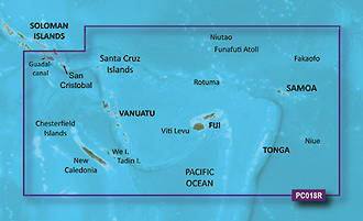 Bluechart G2 Fiji to New Cal