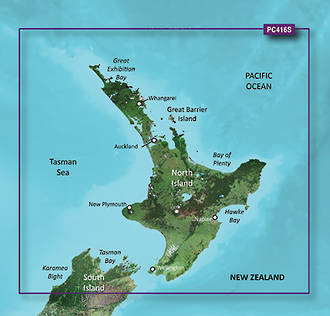 Bluechart Vision NZ North
