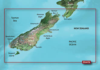 Bluechart G2 NZ South Island