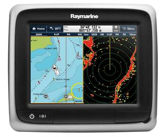 A65 Raymarine with Plat Chart